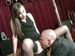 Sasha Grey gets her mouth improbable by