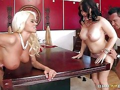 Casey Cumz and Nikita Von James are sinfully chap-fallen wives