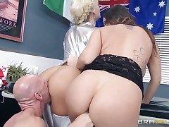 Johnny Sins shows adorable sex tricks to With big