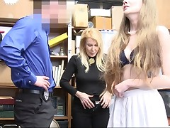 ShopLyfter-Granddaughter And Grandmother Get Caught Shoplifting