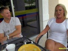 Arousing doyen mart streetwalker with nice hard tits and long